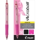 Acroball BCA Retractable Ball Point pen with Pink ink. Dozen Box