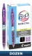 Recycled B2P Colors Retractable pen with Gel Ink.  Dozen Box
