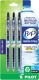 Recycled B2P Retractable pen with Gel Ink. 3 - pack