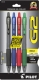 G2 10 Retractable Gel Ink pen in Black, Blue, Red and Green Ink. 4 - pack