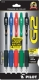 G2 05 Retractable Gel Ink pen with 2 Black, 1 Blue, 1 Red and 1 Green pen. 5 - pack