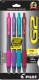 G2 07 Retractable Gel Ink pen in Pink, Purple, Turquoise and Burgundy Inks. 4 - pack